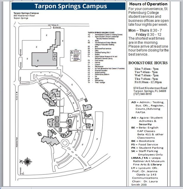 Spc Tarpon Campus Map SPC Tarpon Campus Map Keyword Data   Related SPC Tarpon Campus Map