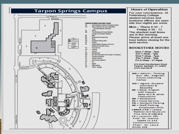 Tarpon Campus Map & Hours | jeannaojeda.wordpress.com on st. petersburg beach map, rome map, orlando map, port saint joe map, south daytona beach map, catherine palace map, city of sunrise map, russia map, bradenton map, europe map, moscow map, st. petersburg fl city map, belarus map, saint cloud map, tampa map, baltic sea map, clearwater map, st. augustine map, st. petersburg area map,
